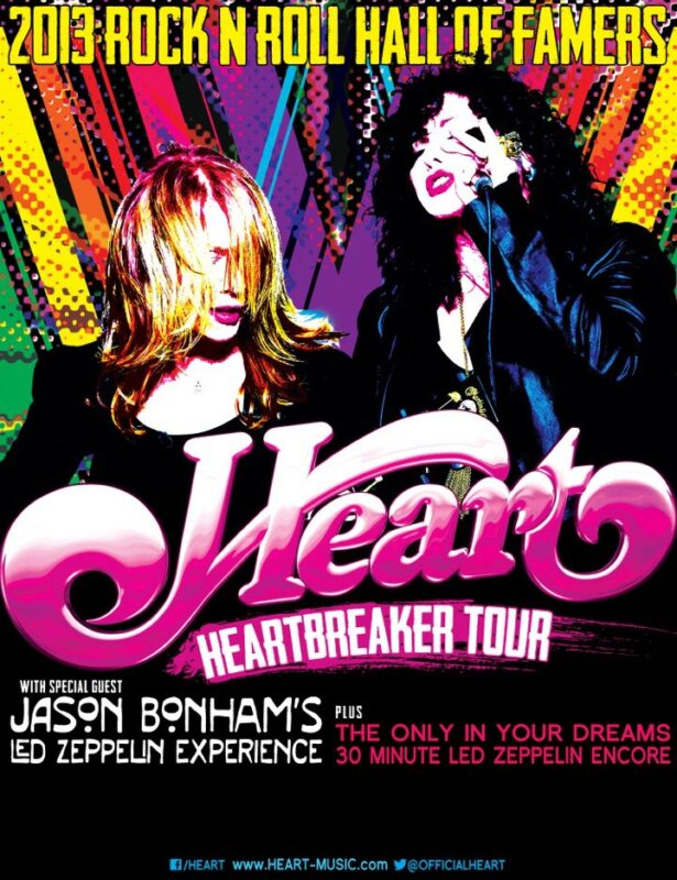 HEARTBREAKER TOUR 2012