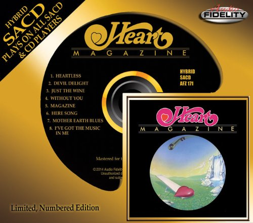 Magazine in Limited and numbered Audio Fidelity edition! Click on pic for Amazon