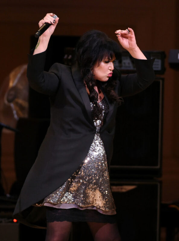 Singer Ann Wilson performs at The Music of David Bowie tribute concert at Carnegie Hall on Thursday, March, 31, 2016, in New York. (Photo by Evan Agostini/Invision/AP)