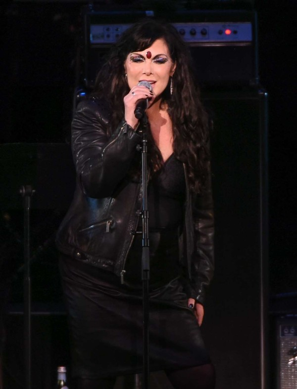 Ann Wilson on April 1st 2016, NYC
