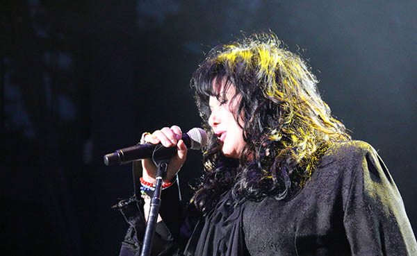 Ann Wilson at BottleRock 2014 (Photo by David Kern) Click here for original format.