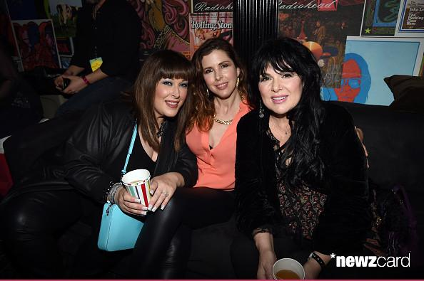 Carnie Wilson, Wendy Wilson and Ann Wilson, March 30th LA
