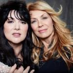Ann & Nancy Wilson, photo taken in 2014 by NORMAN SEEFF