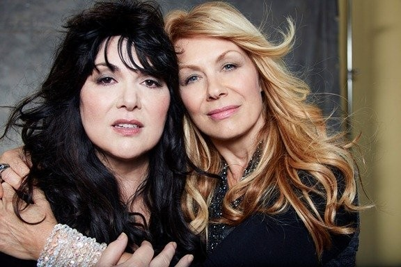 Ann & Nancy Wilson, photo taken in 2014 by NORMAN SEEFF