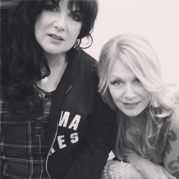 nancyheartmusic: #wcw is the other half of my heart (see what I did there?!). Love you @annheartmusic