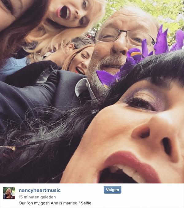 From Nancy's Instagram, April 29th 2015