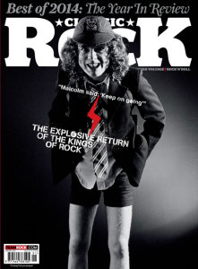 Cover of the new issue of Classic Rock Magazine
